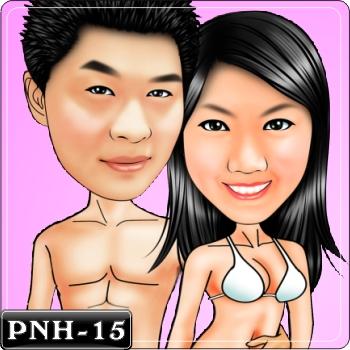 情侶雙人Q版漫畫-PNH-15